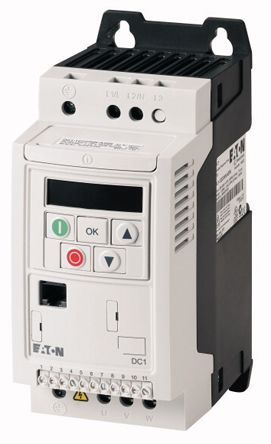 Eaton Inverter Drive, 1-Phase In 0.37 kW, 230 V ac, 2.3 A DC1