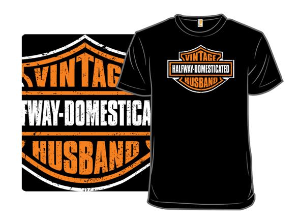 Vintage Husband T Shirt