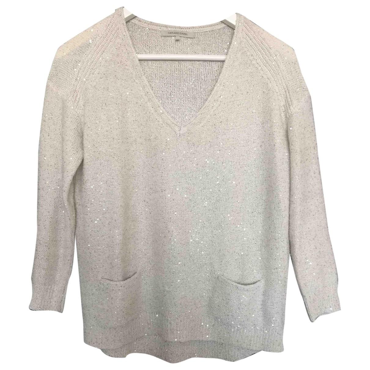 Gerard Darel \N Ecru Cotton Knitwear for Women S International