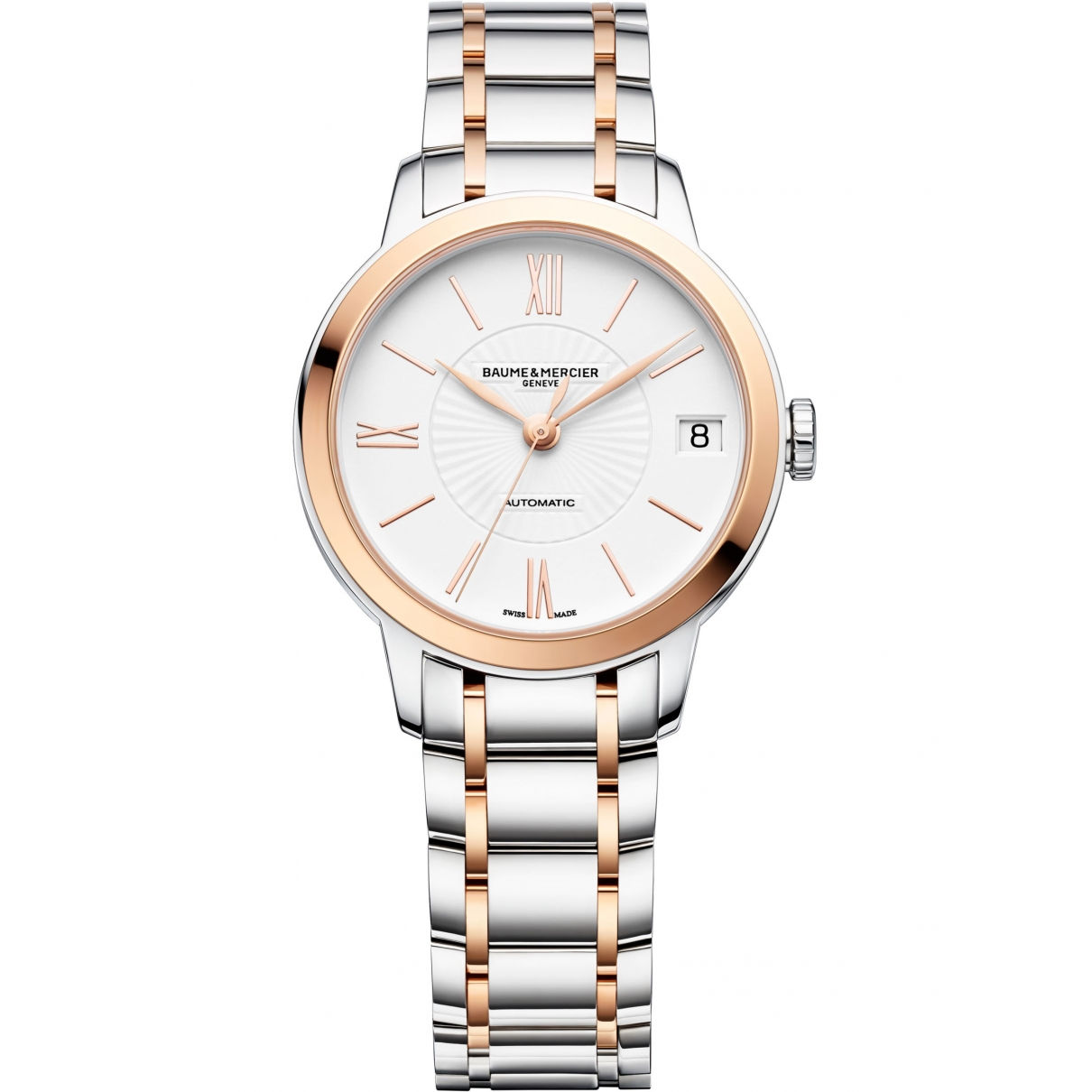 Baume Et Mercier Classima gold and steel watch for Women \N