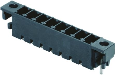 Weidmüller , OMNIMATE SC, 2 Way, 1 Row, Straight PCB Header (5)