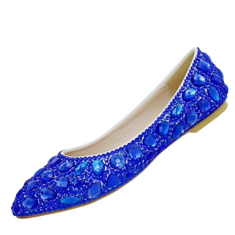 Ericdress Simple Rhinestone Low-Cut Plain Wedding Shoes