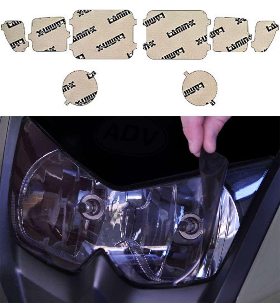 Hummer H3 05-10 Gunsmoke Headlight Covers Lamin-X HU002G