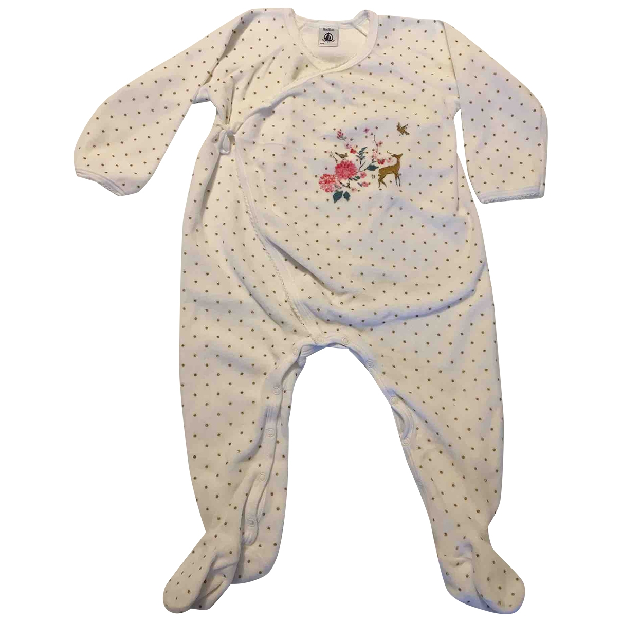 Petit Bateau \N White Cotton Outfits for Kids 18 months - up to 81cm FR