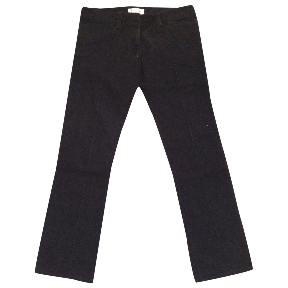 Balenciaga \N Black Cotton Jeans for Women 40 FR