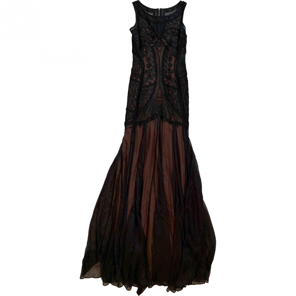 Temperley London \N Black Silk dress for Women 8 UK