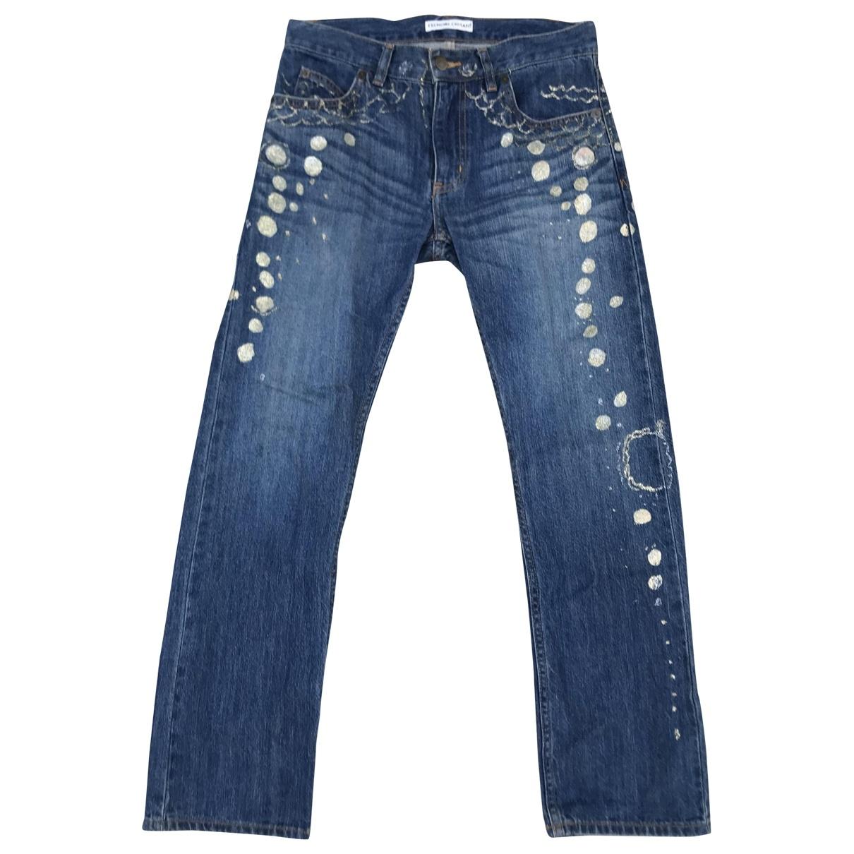 Tsumori Chisato \N Blue Denim - Jeans Jeans for Women 30 US