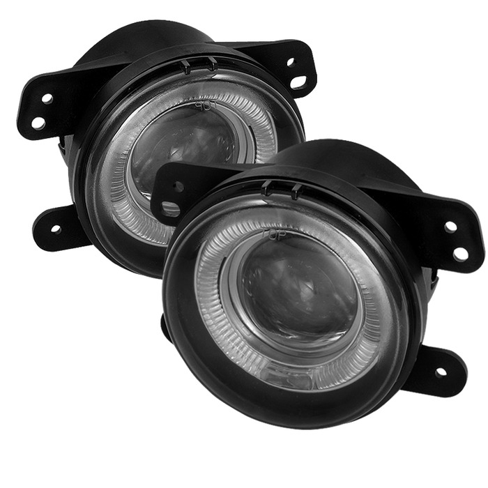 Spyder Auto FL-P-DM05-HL-SM Smoke Projector Fog Lights with Switch Chrysler 300 5.7L with Touring 05-10