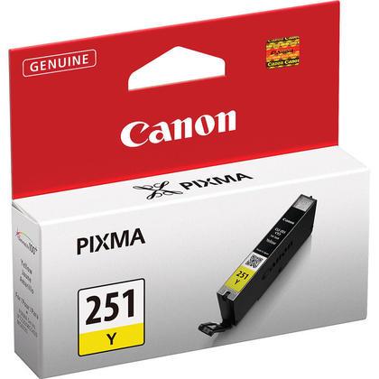 Canon CLI-251Y Original Yellow Ink Cartridge