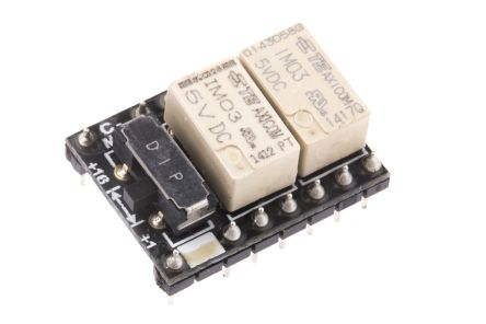 RS PRO , 5V dc Coil Non-Latching Relay 4PDT, 2A Switching Current PCB Mount, 4 Pole
