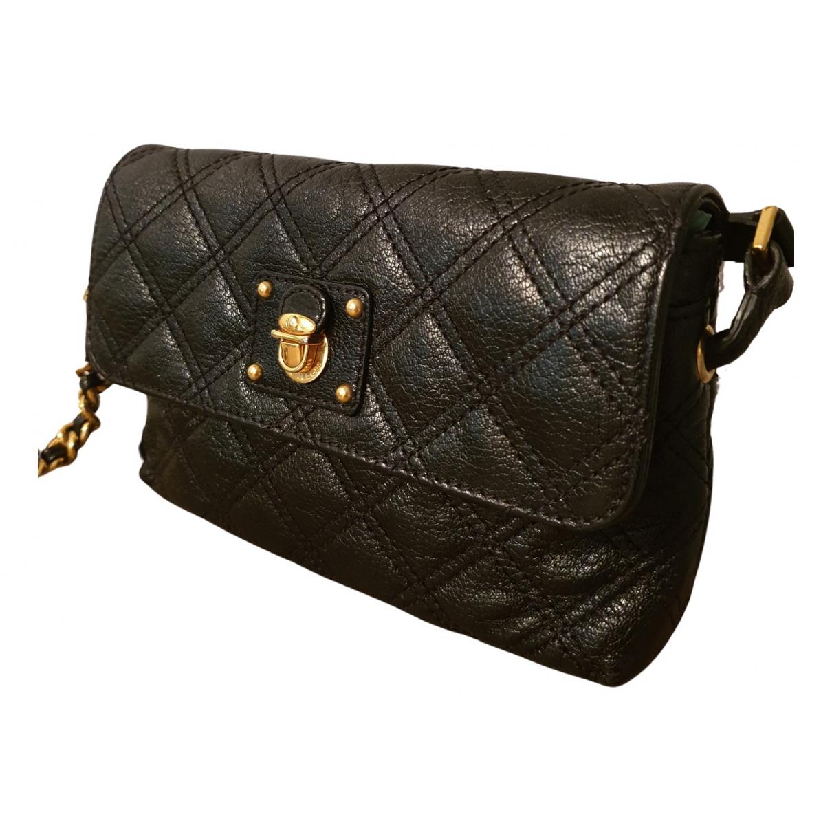 Marc Jacobs Single Black Leather handbag for Women \N