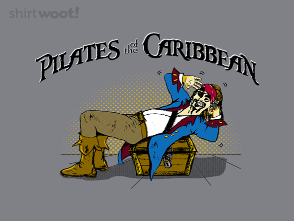 Pilates Of The Caribbean T Shirt