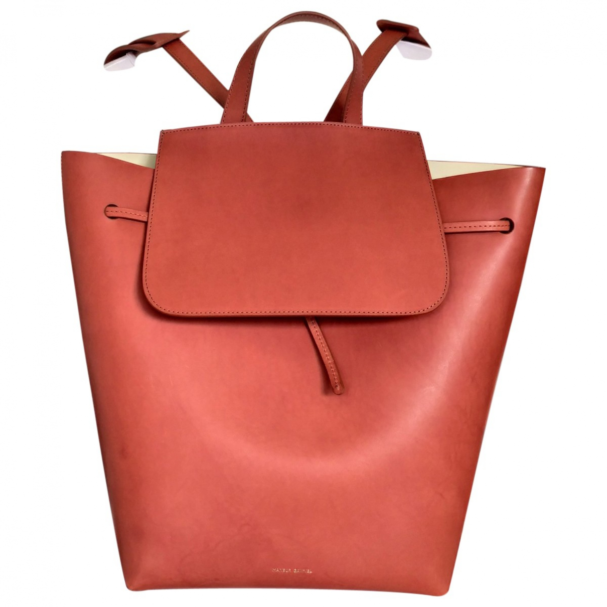 Mansur Gavriel \N Brown Leather backpack for Women \N
