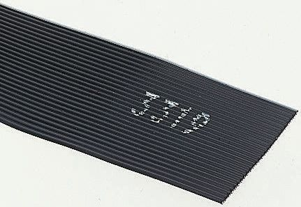 3M 34 Way Unscreened Flat Ribbon Cable, 43.18 mm Width, Series 3319, 5m