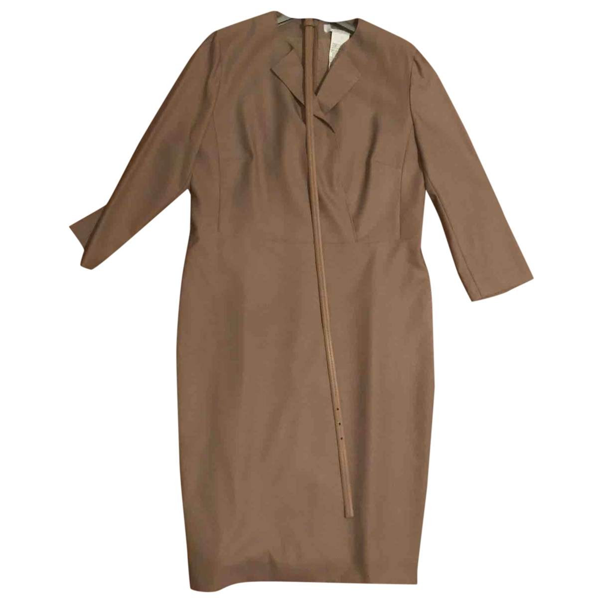 Max Mara \N Beige Wool dress for Women 46 IT