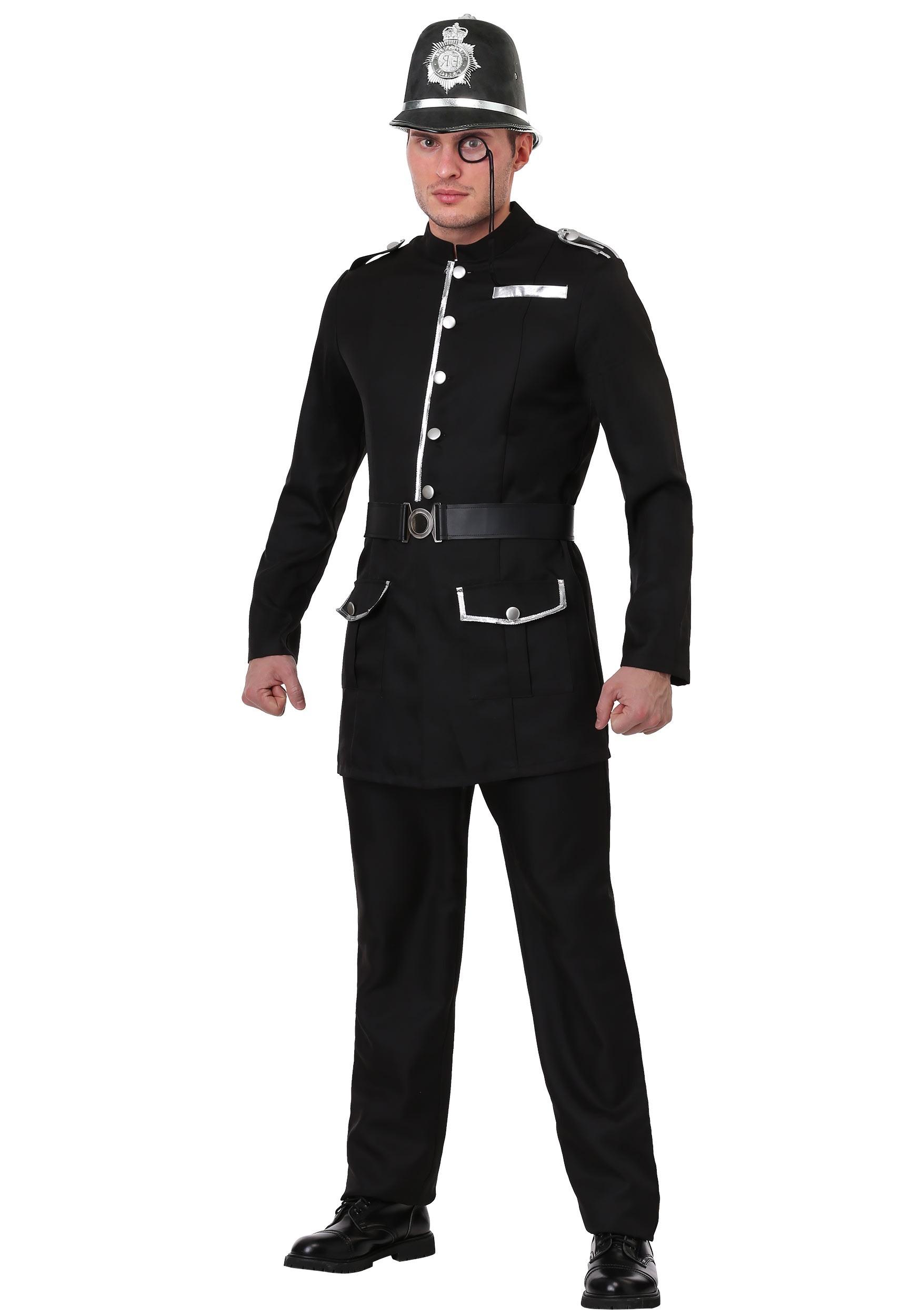 British Bobby Costume for Men