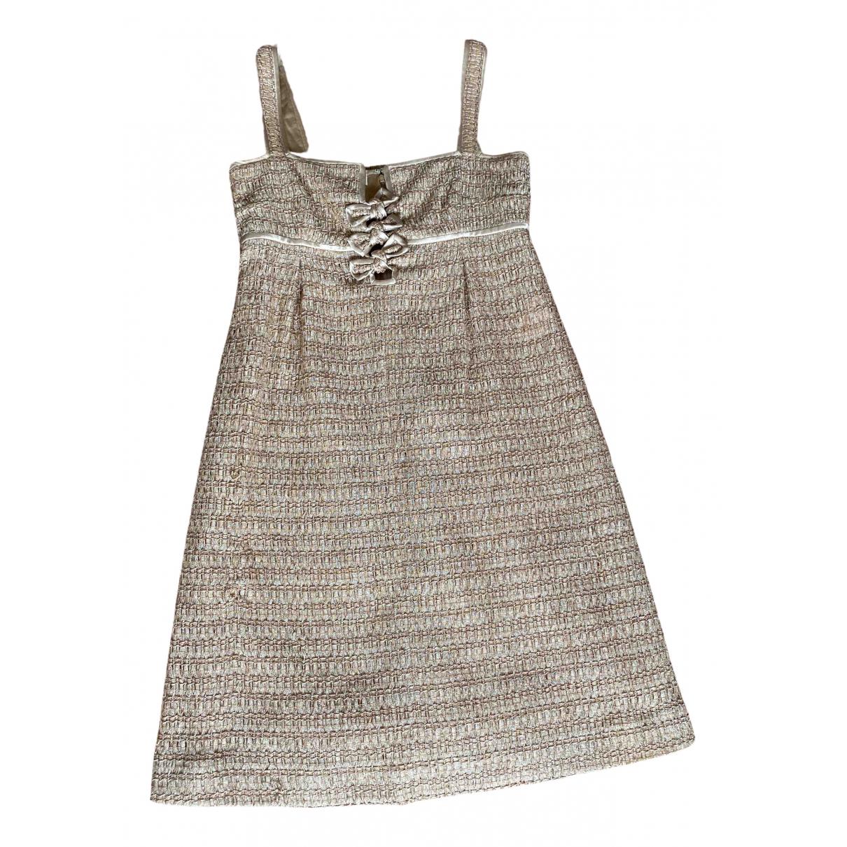 Valentino Garavani \N Gold dress for Women 8 US