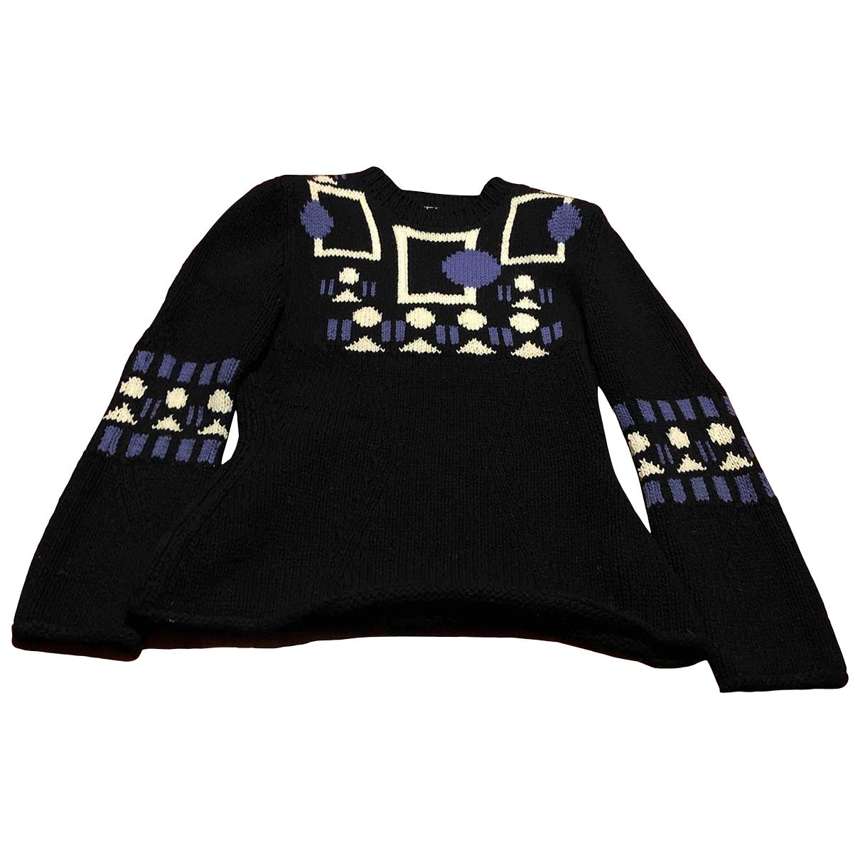 Tod's \N Blue Wool Knitwear for Women L International
