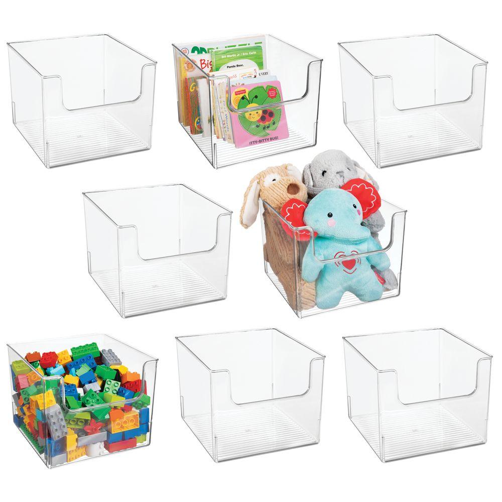 Plastic Home Storage Cube Bin for Furniture - 10