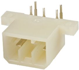 TE Connectivity , Multi-Interlock Mark II, 17 Way, 2 Row, Right Angle PCB Header