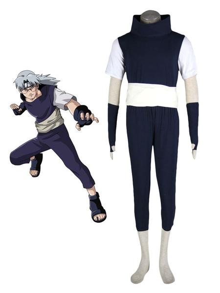 Milanoo Naruto Yakushi Kabuto Cosplay Costume Halloween