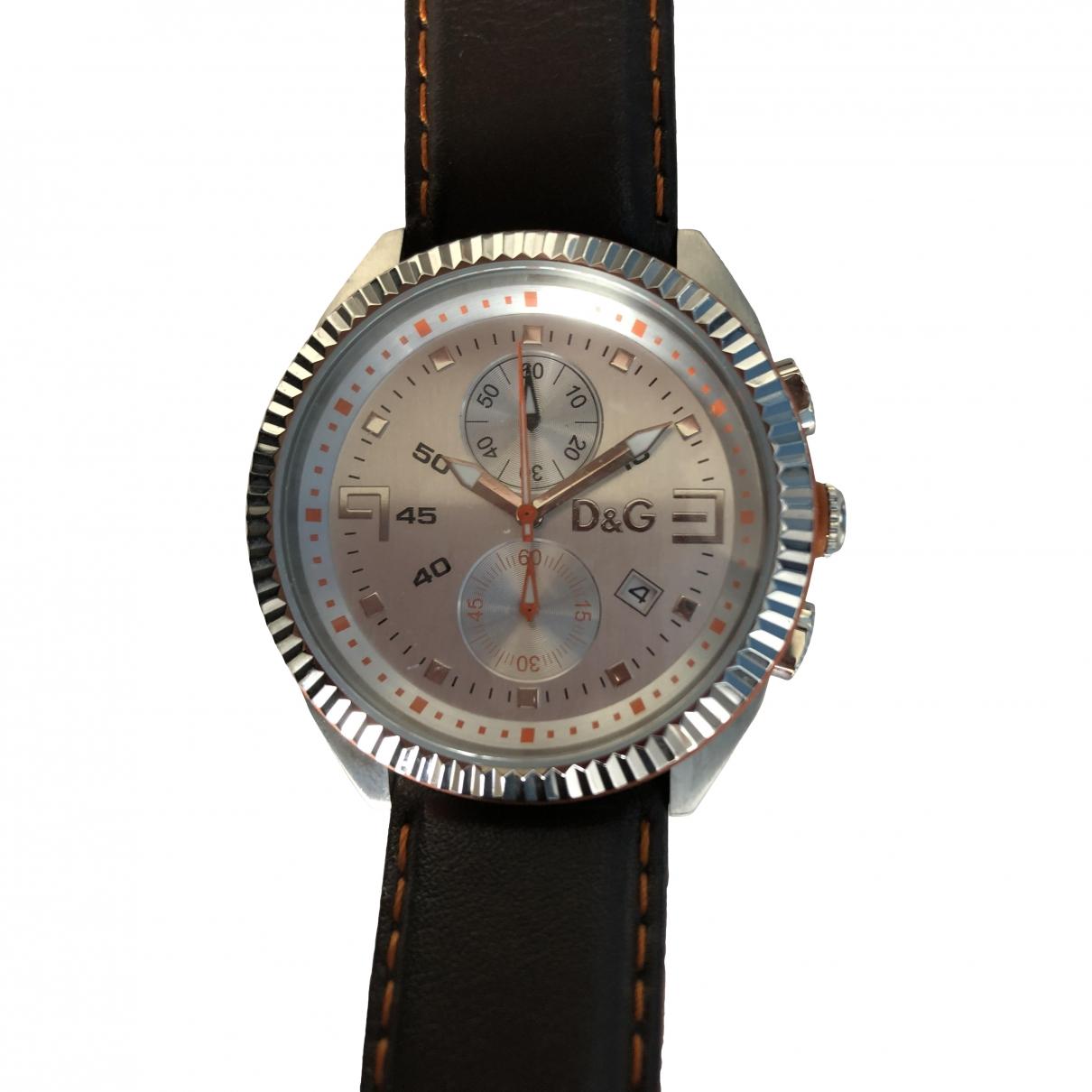 Dolce & Gabbana \N Silver Steel watch for Men \N