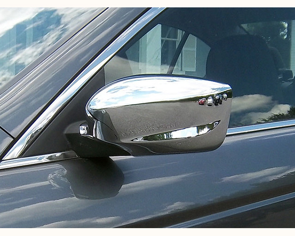 Quality Automotive Accessories Chrome Plated ABS Plastic 2-Piece Mirror Cover Set Honda Accord 2009