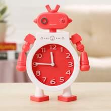 1pc Robot Design Alarm Clock