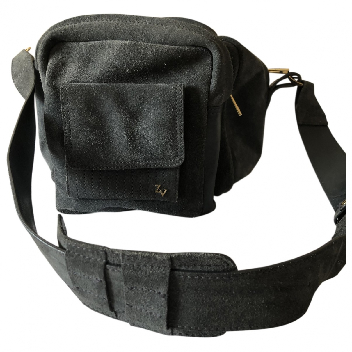 Zadig & Voltaire \N Grey Suede handbag for Women \N