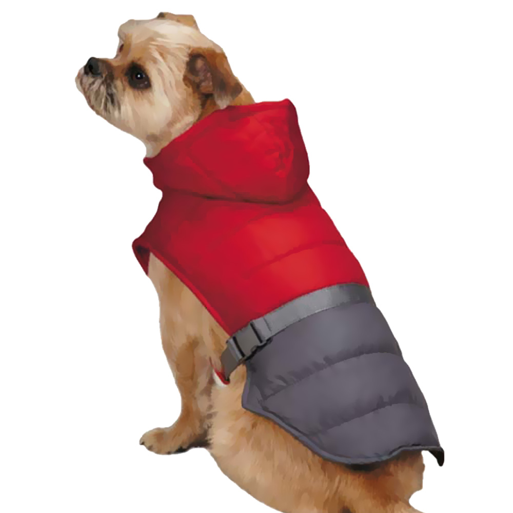 Zack & Zoey Trek Puffy Jacket - Red (Medium)