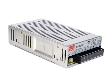 Mean Well , 100.8W Embedded Switch Mode Power Supply SMPS, 48V dc, Enclosed