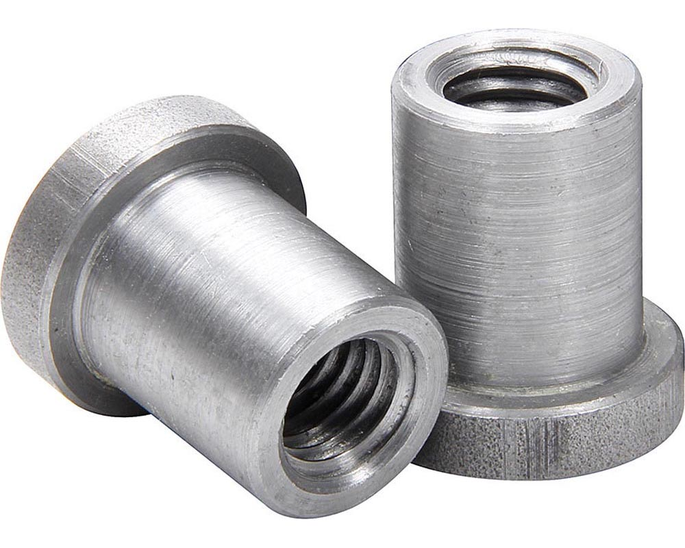 Allstar Performance ALL18552-25 Weld On Nuts 1/2-13 Long 25pk ALL18552-25