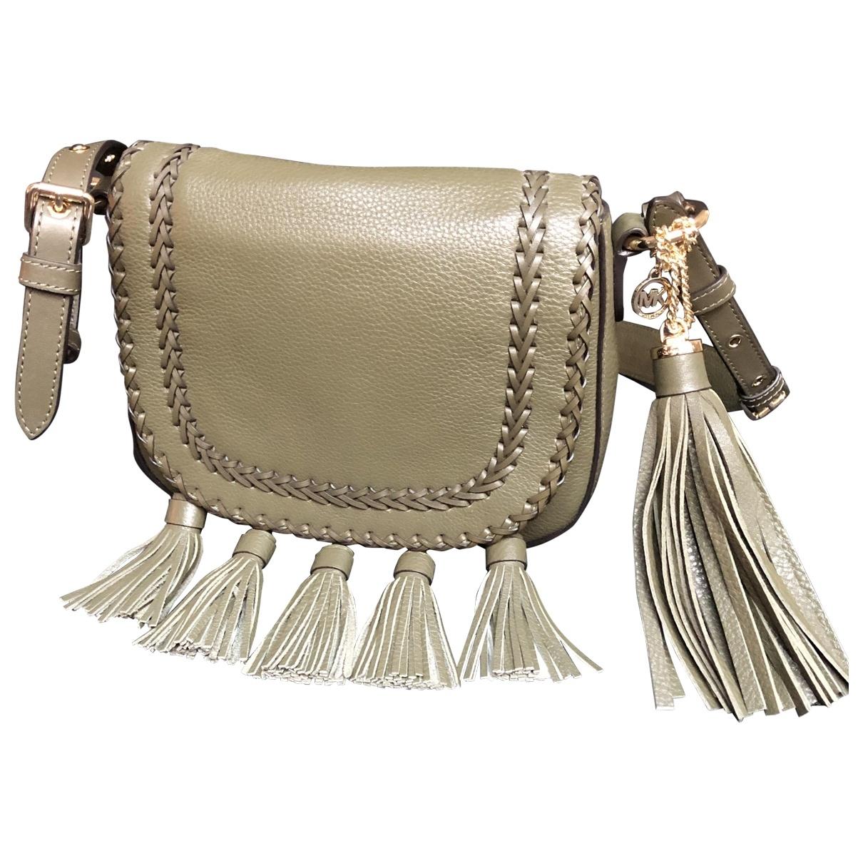 Michael Kors \N Khaki Leather handbag for Women \N