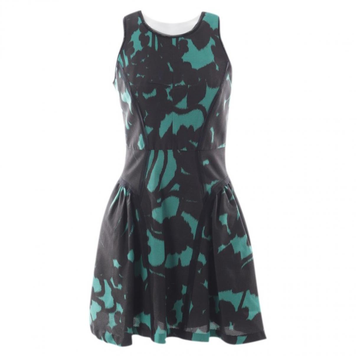 Milly \N Black Cotton dress for Women 34 FR