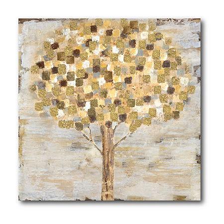 Courtside Market Golden Tree Canvas Art, One Size , Multiple Colors