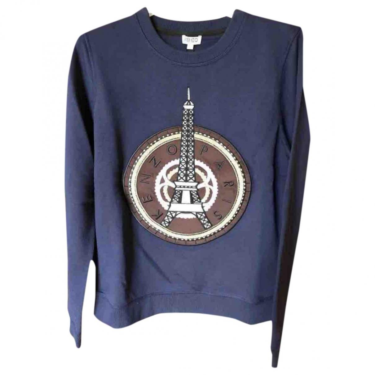 Kenzo \N Blue Cotton Knitwear for Women M International