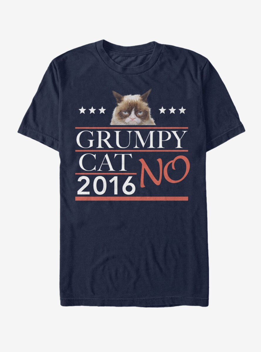 Grumpy Cat Election 2016 No T-Shirt