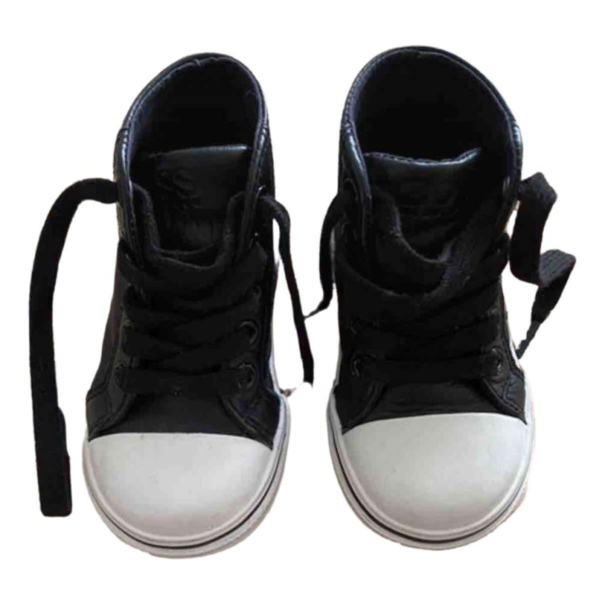 Boss \N Black Cloth Trainers for Kids 21 FR