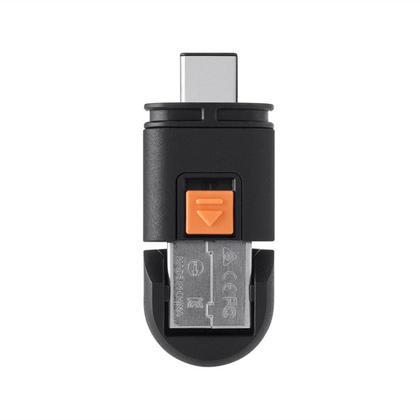USB-C USB-A Dual Mode MicroSD® Reader - Monoprice®