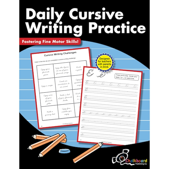 Daily Cursive Writing Practice Workbook By Creative Teaching Press | Michaels®