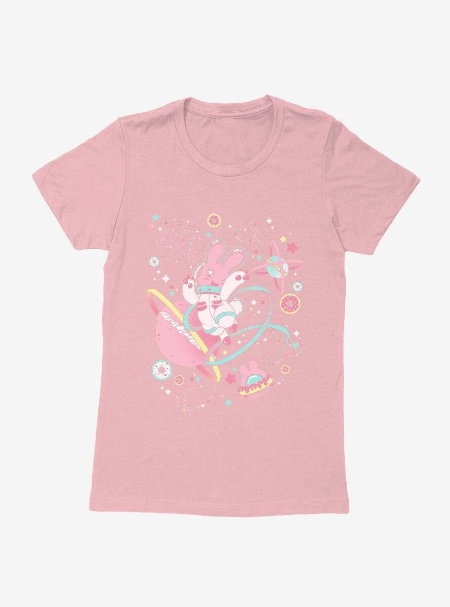 Tasty Peach Chirii Space Bunny Womens T-Shirt