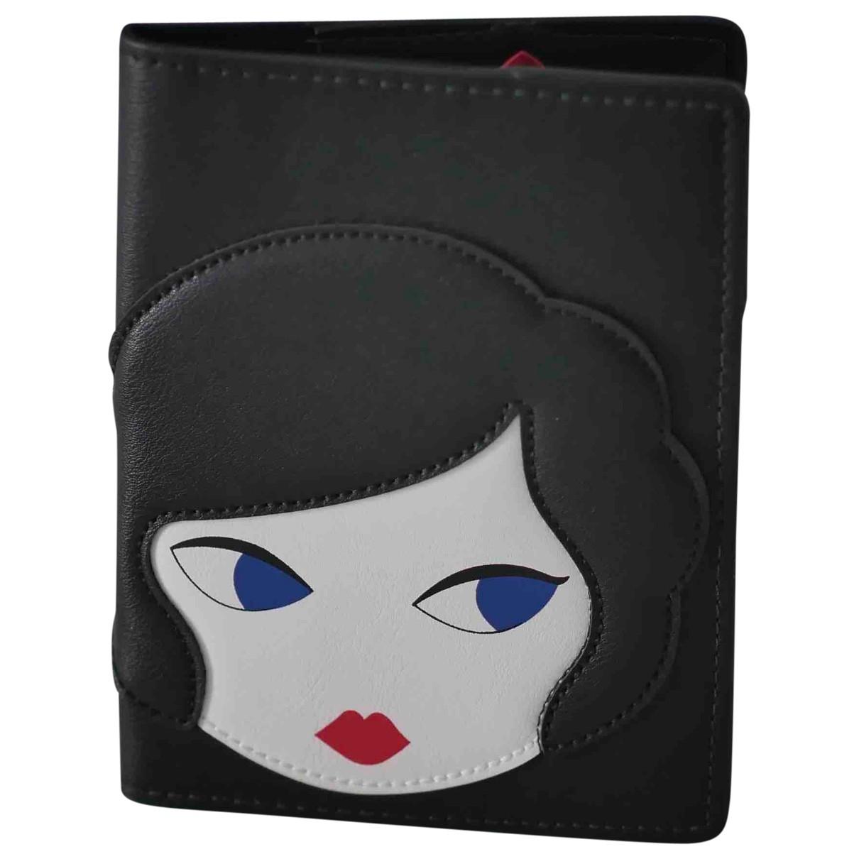 Lulu Guinness \N Black Purses, wallet & cases for Women \N