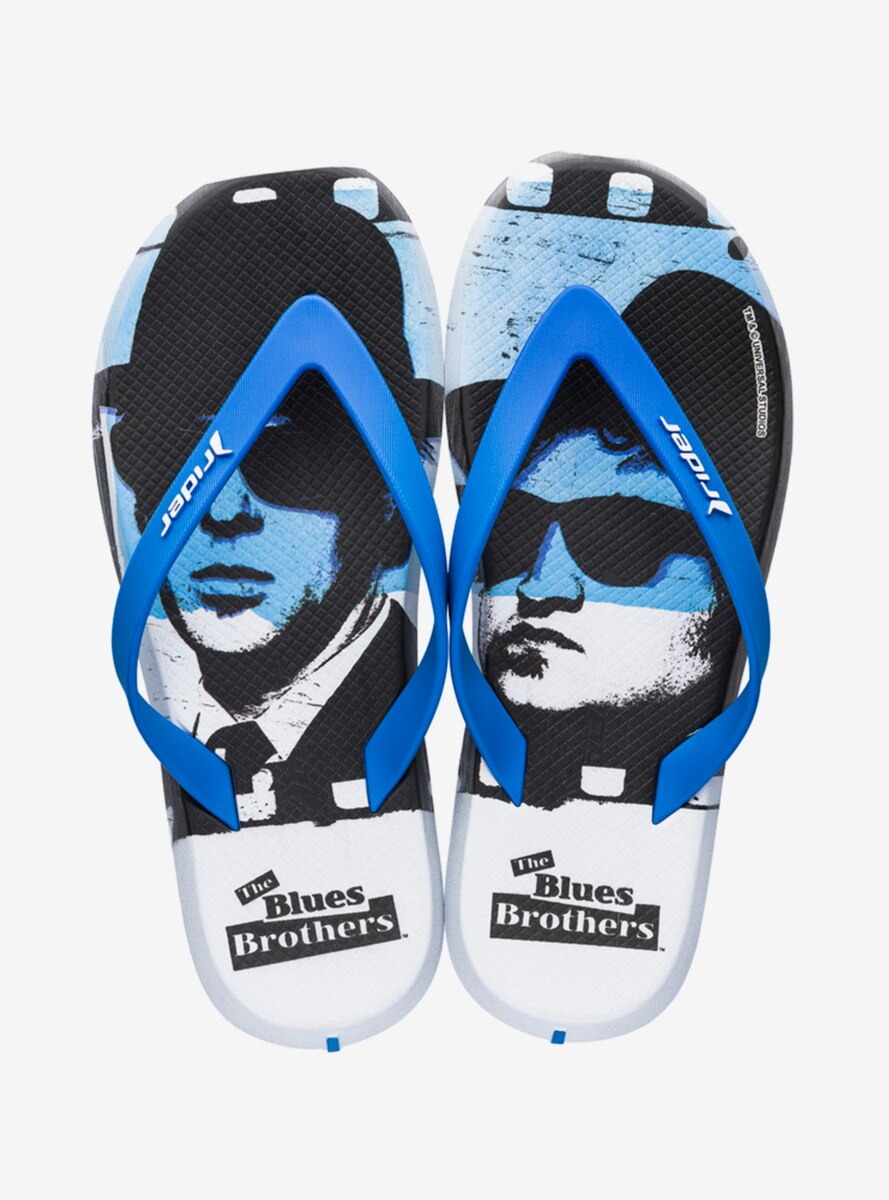 The Blues Brothers Rider R1 Blockbuster Flip Flop Sandal