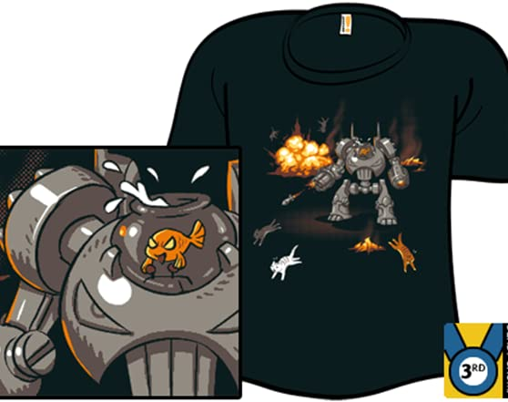 Goldfish Of Doom! T Shirt