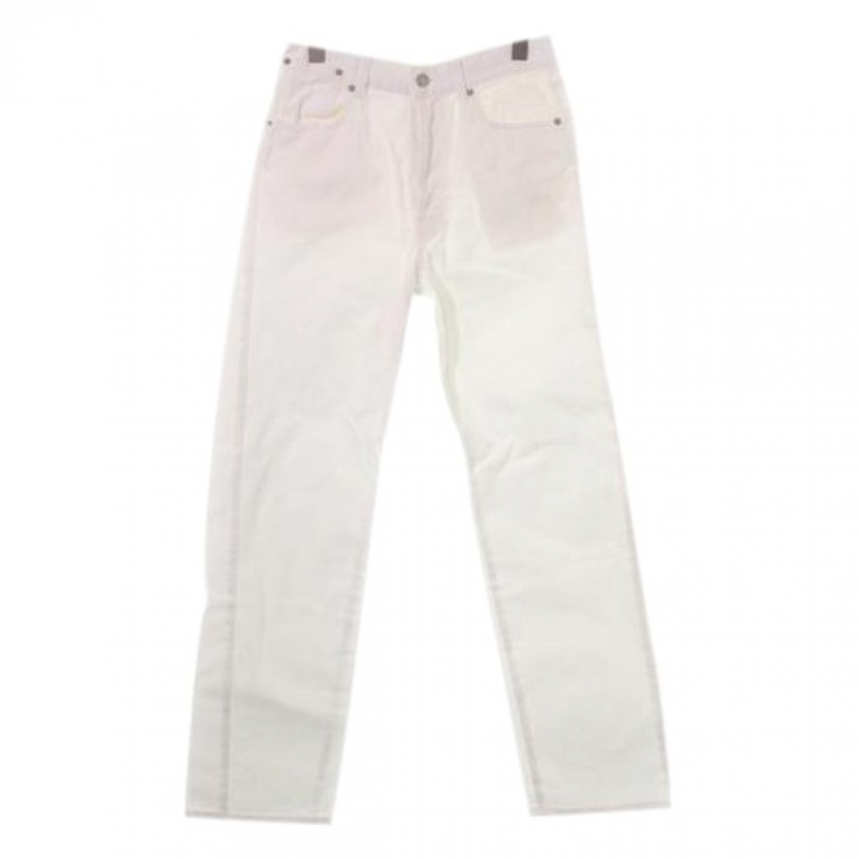 Dries Van Noten \N White Cotton Jeans for Women 26 US