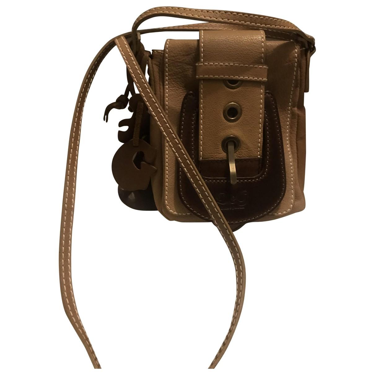 D&g \N Beige Leather Clutch bag for Women \N