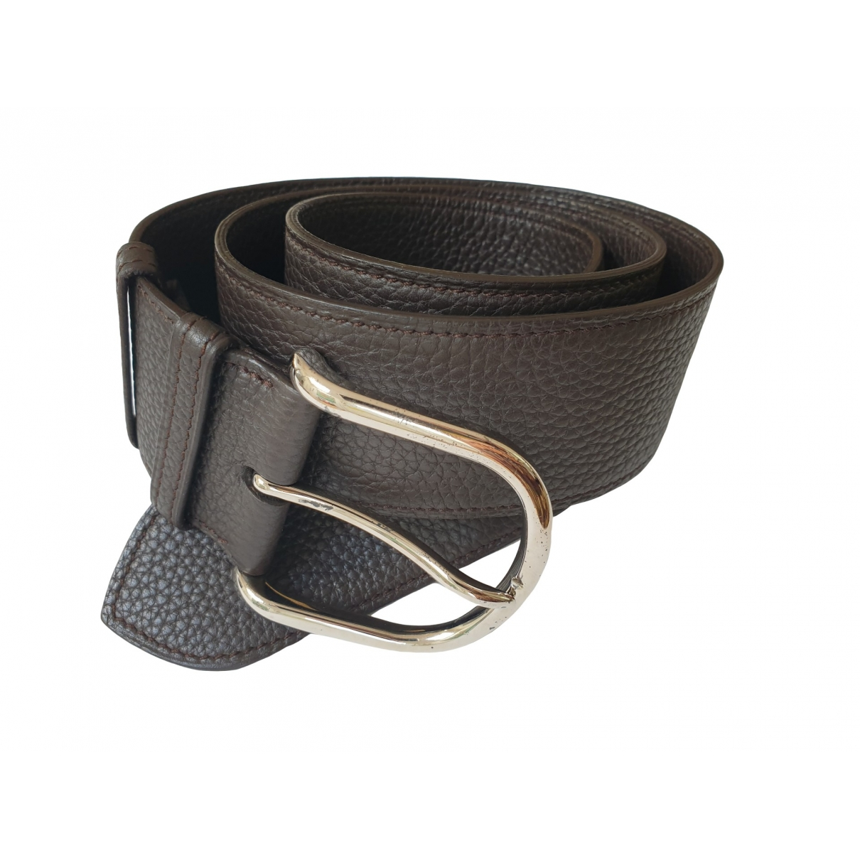 Hermès \N Brown Leather belt for Women 31 Inches