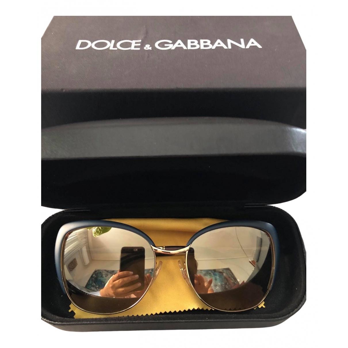 Dolce & Gabbana \N Green Metal Sunglasses for Women \N