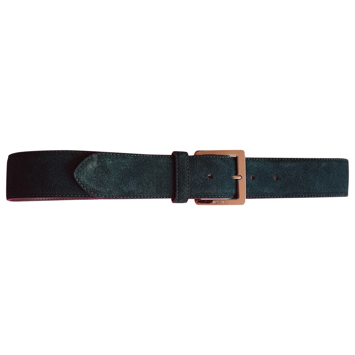 Loro Piana \N Green Suede belt for Women 80 cm