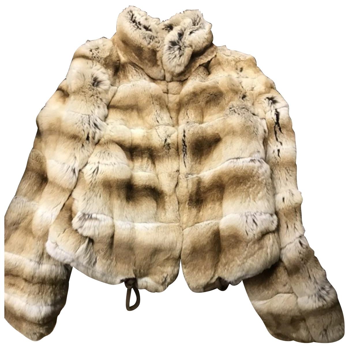 Valentino Garavani \N Multicolour Chinchilla coat for Women 36 FR